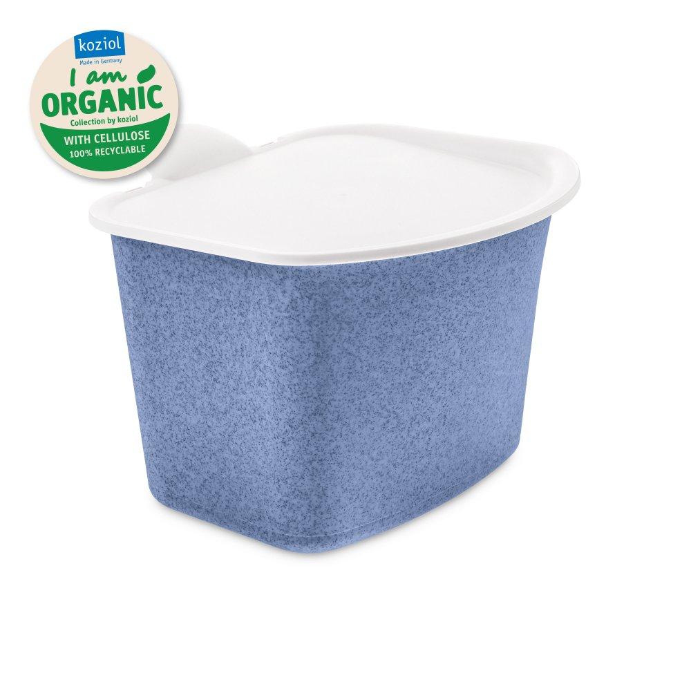 BIBO ORGANIC Bio Abfall Behälter organic blue
