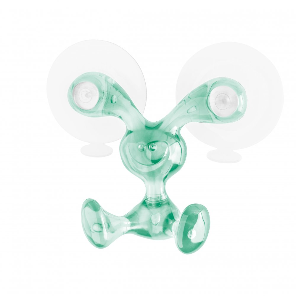 BUNNY Wall Hook transparent jade
