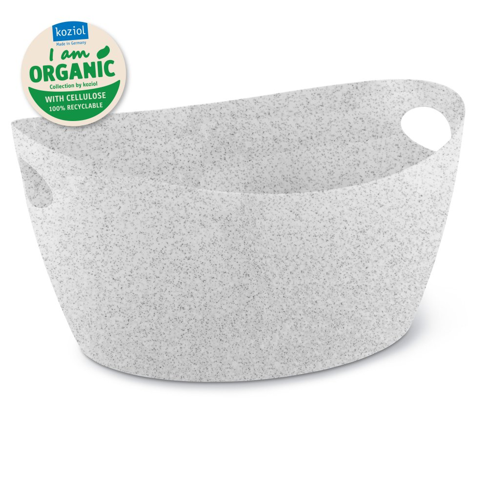 BOTTICHELLI L ORGANIC Washtub 15l organic grey