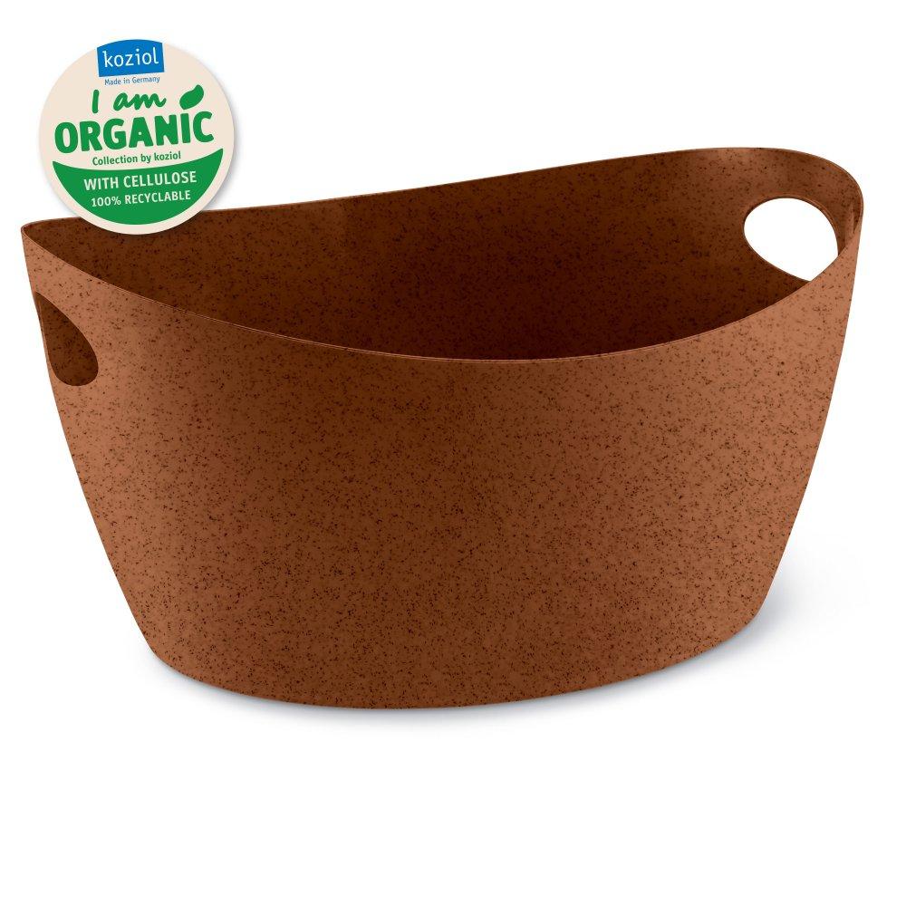 BOTTICHELLI L ORGANIC Washtub 15l organic rusty steel