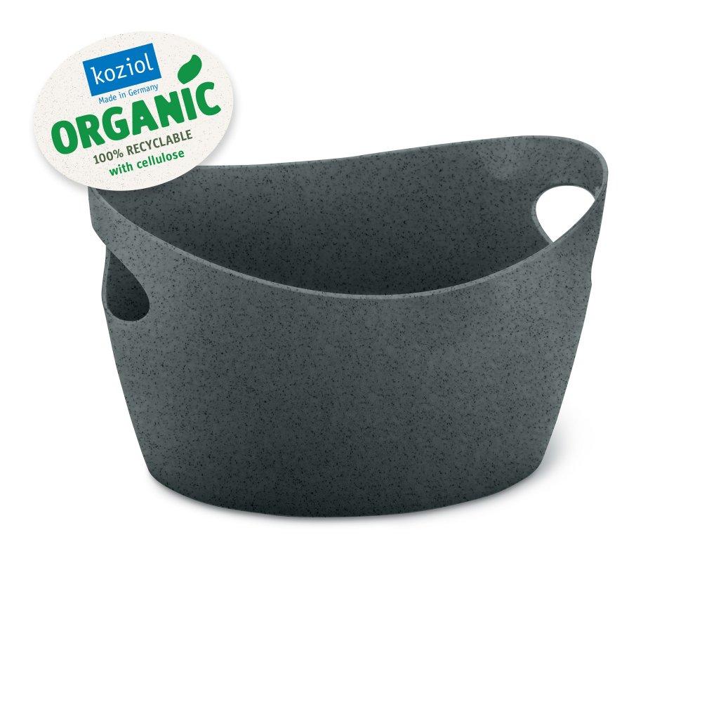 BOTTICHELLI XS ORGANIC Utensilo 450ml organic deep grey