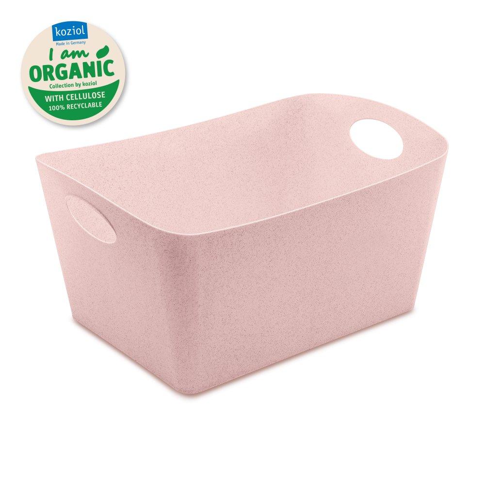 BOXXX L ORGANIC Aufbewahrungsbox 15l organic pink