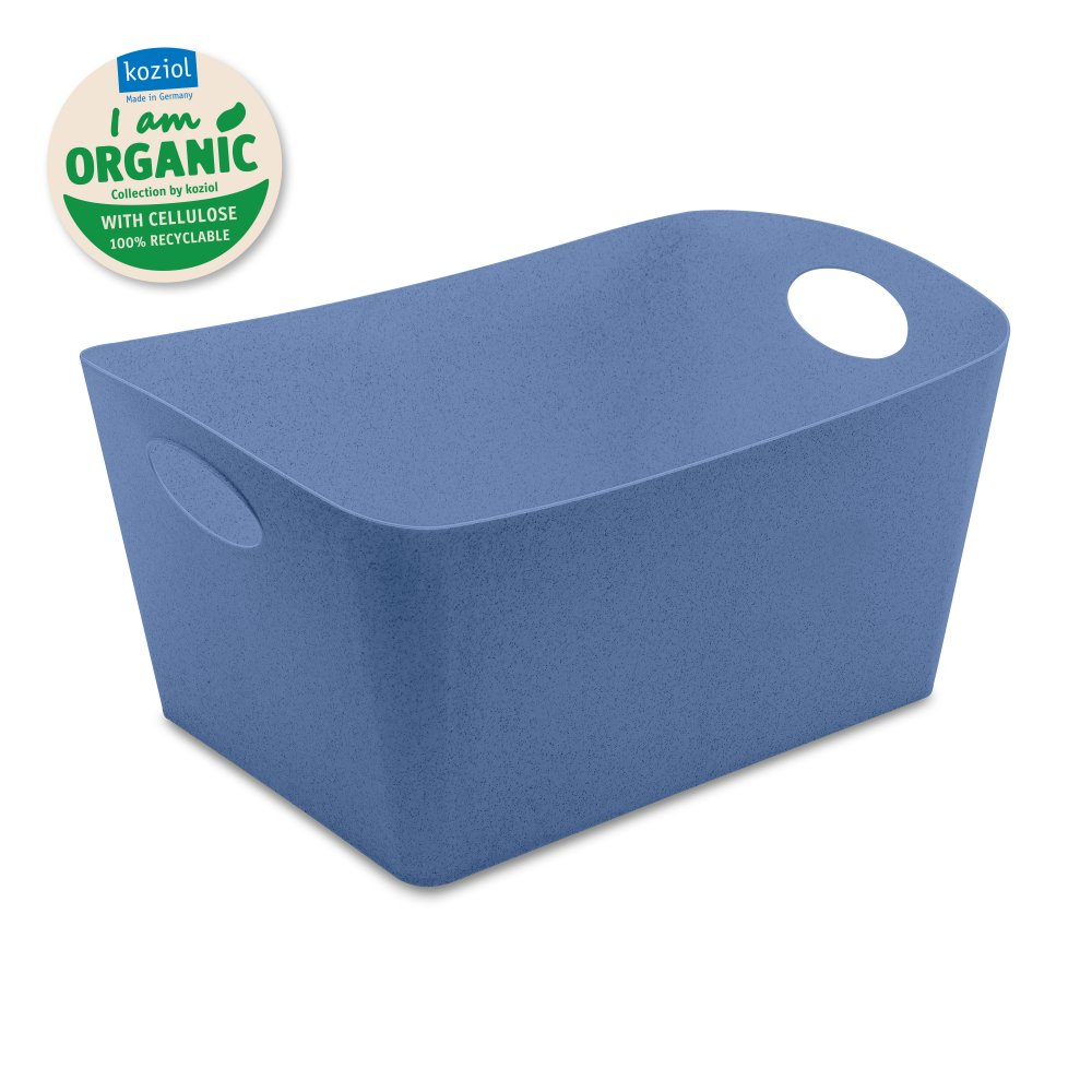 BOXXX L ORGANIC Aufbewahrungsbox 15l organic blue