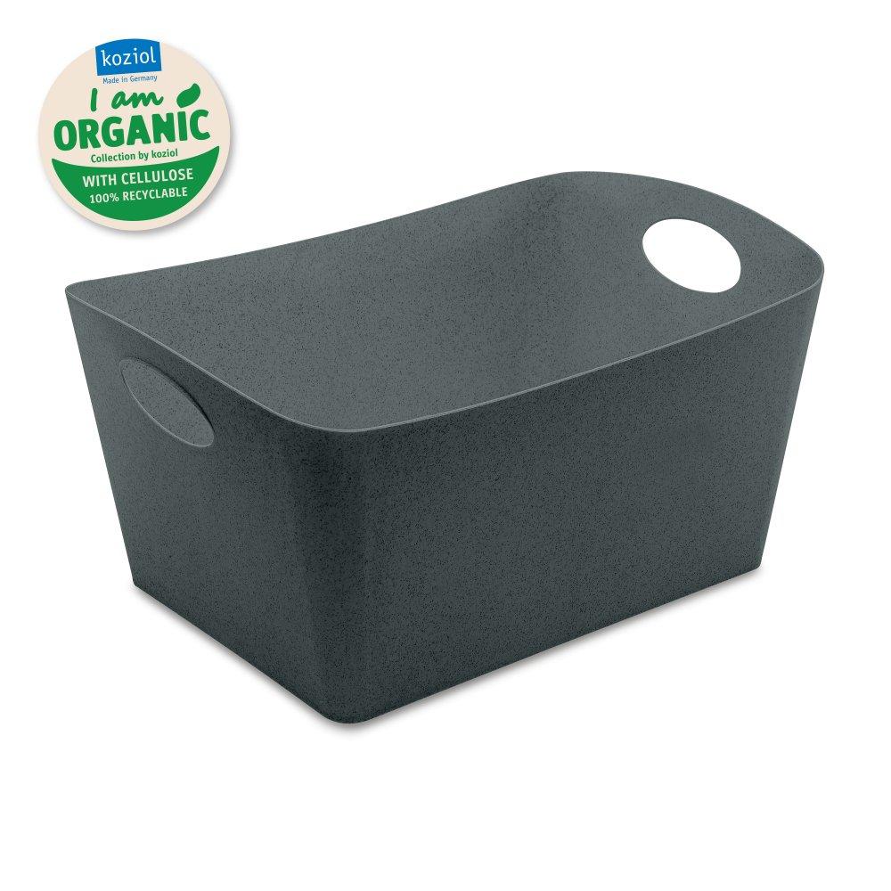 BOXXX L ORGANIC Aufbewahrungsbox 15l organic deep grey