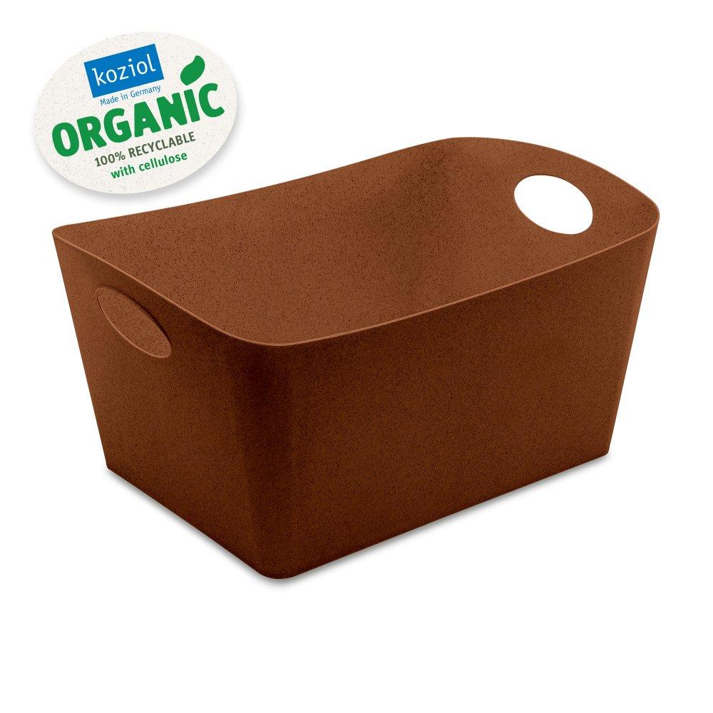 BOXXX L ORGANIC Aufbewahrungsbox 15l organic rusty steel