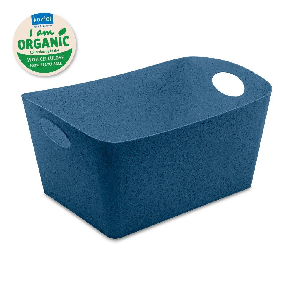 BOXXX L ORGANIC Aufbewahrungsbox 15l organic deep blue