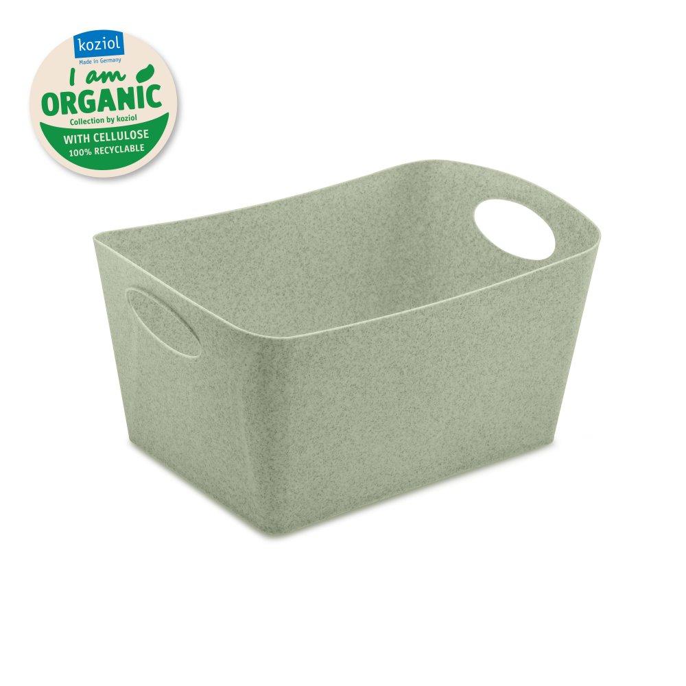 BOXXX M ORGANIC Aufbewahrungsbox 3,5l organic green