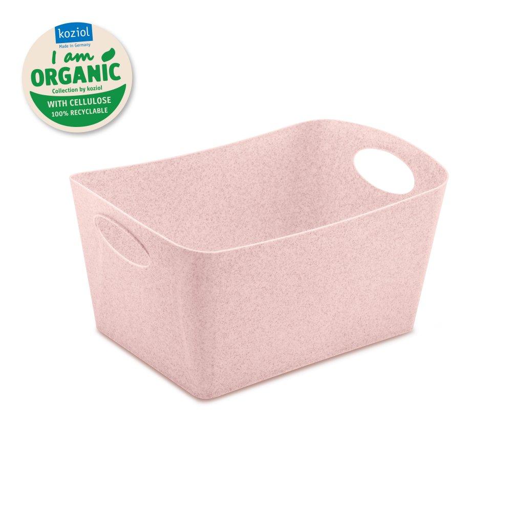 BOXXX M ORGANIC Storage bin 3,5l organic pink
