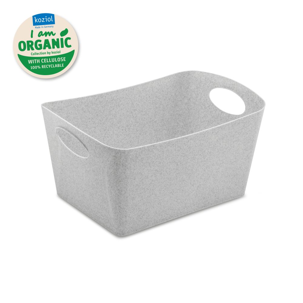 BOXXX M ORGANIC Aufbewahrungsbox 3,5l organic grey