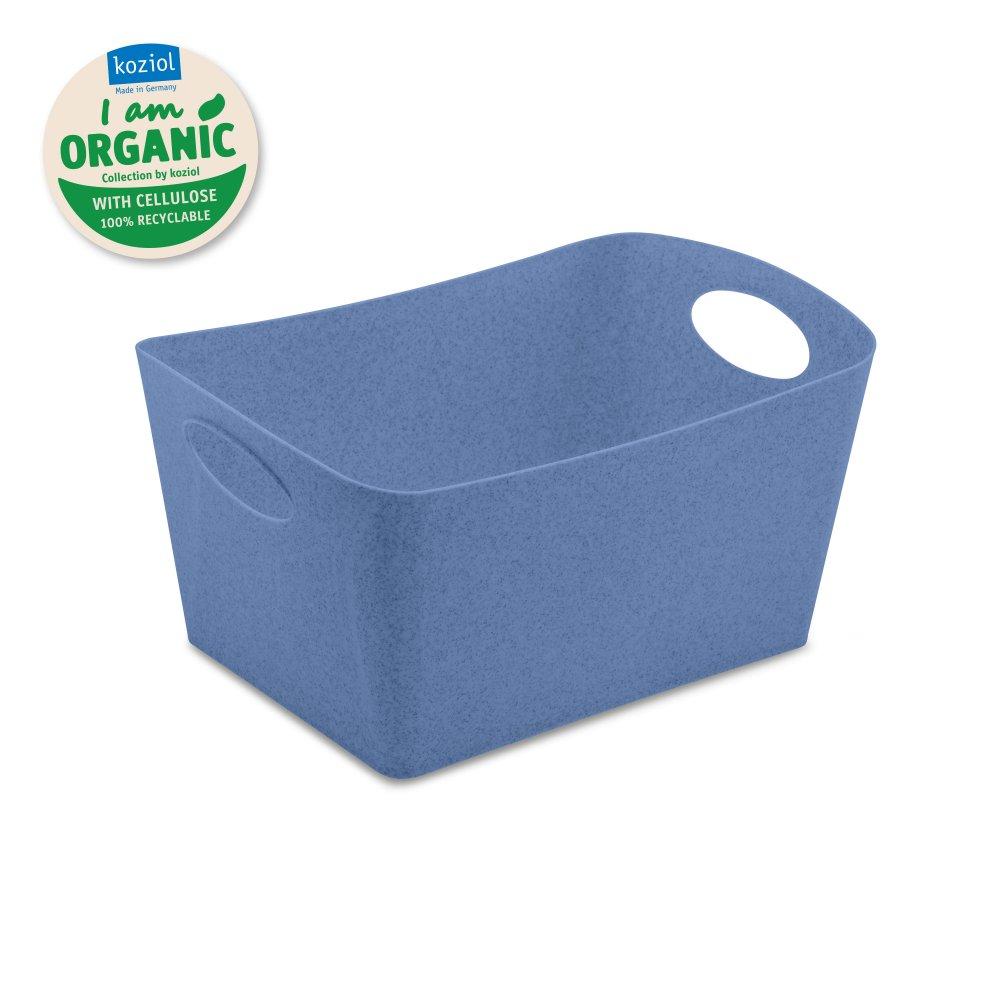BOXXX M ORGANIC Aufbewahrungsbox 3,5l organic blue
