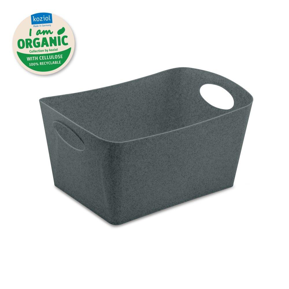 BOXXX M ORGANIC Aufbewahrungsbox 3,5l organic deep grey
