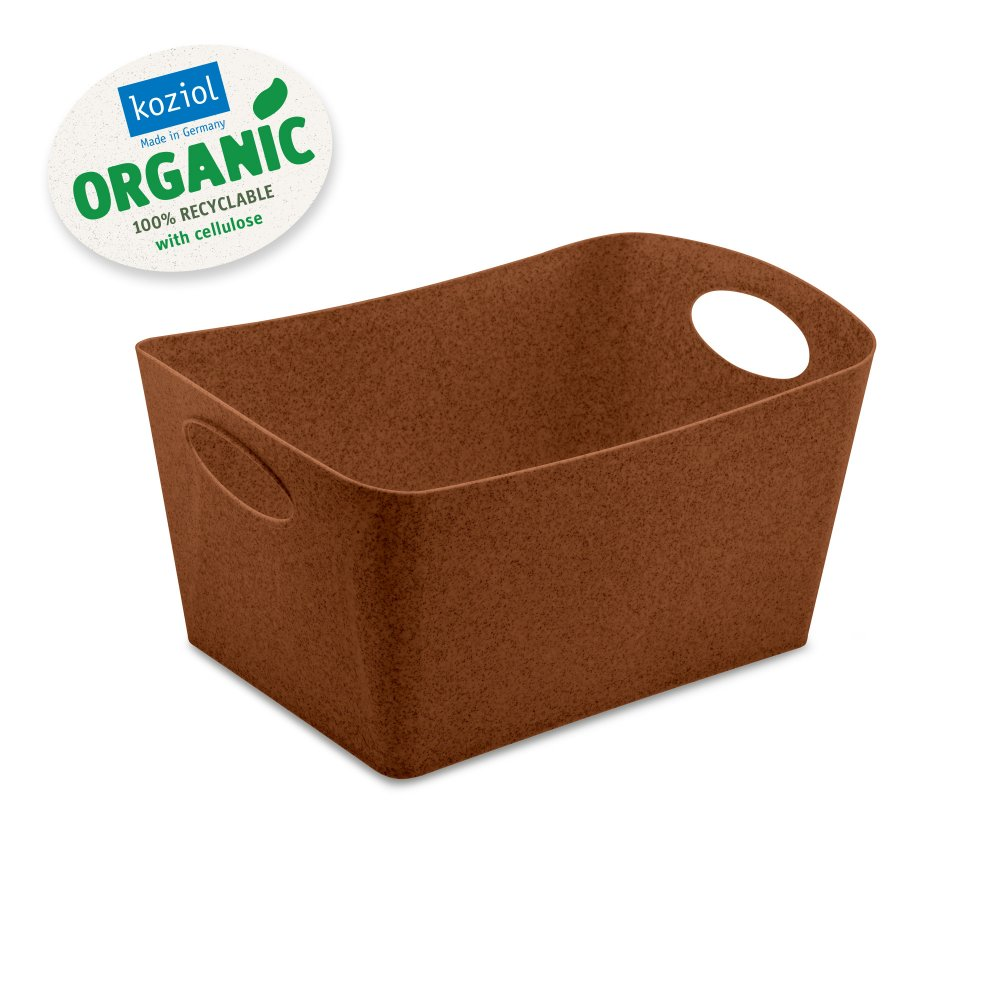 BOXXX M ORGANIC Storage bin 3,5l organic rusty steel