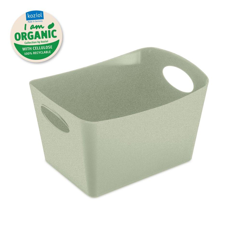 BOXXX S ORGANIC Aufbewahrungsbox 1l organic green