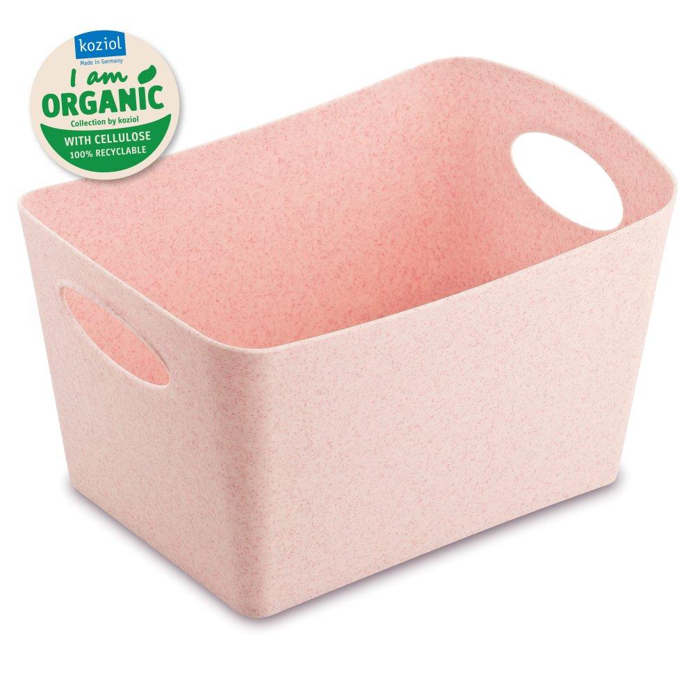 BOXXX S ORGANIC Storage bin 1l organic pink