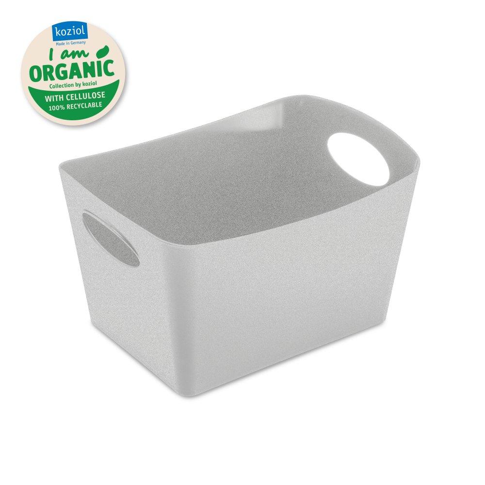 BOXXX S ORGANIC Storage bin 1l organic grey