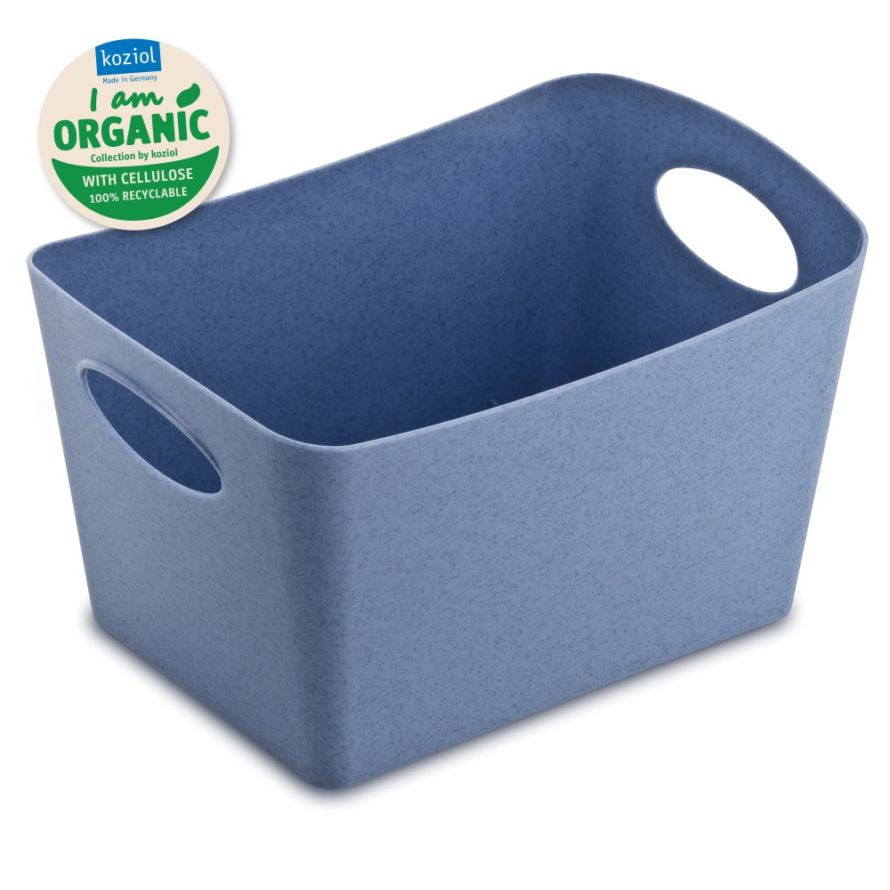 BOXXX S ORGANIC Storage bin 1l organic blue