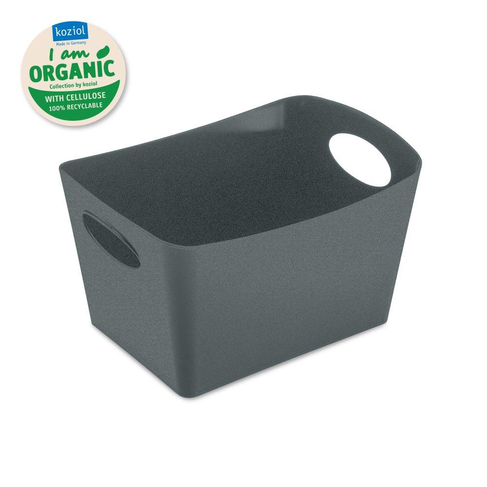 BOXXX S ORGANIC Aufbewahrungsbox 1l organic deep grey