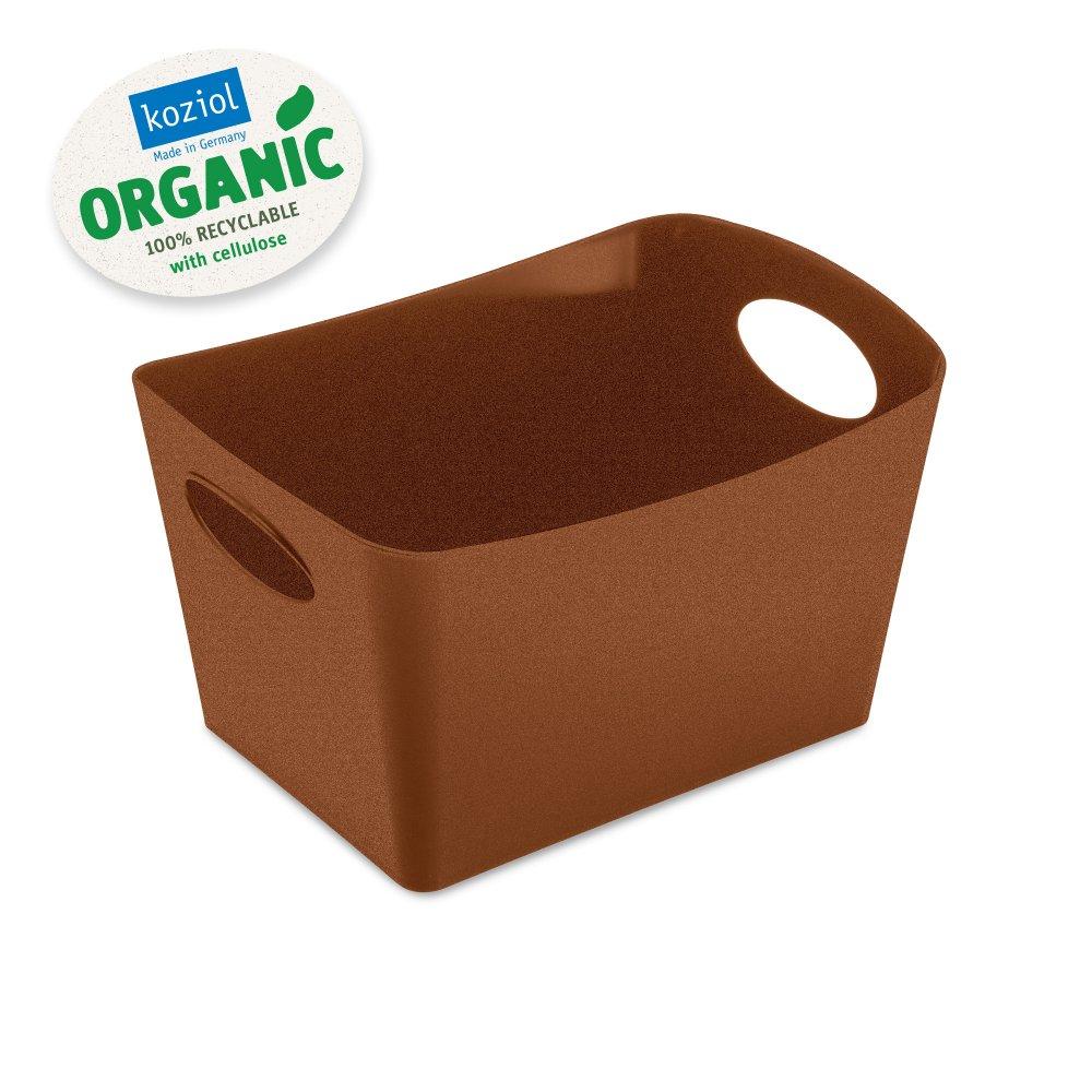 BOXXX S ORGANIC Aufbewahrungsbox 1l organic rusty steel