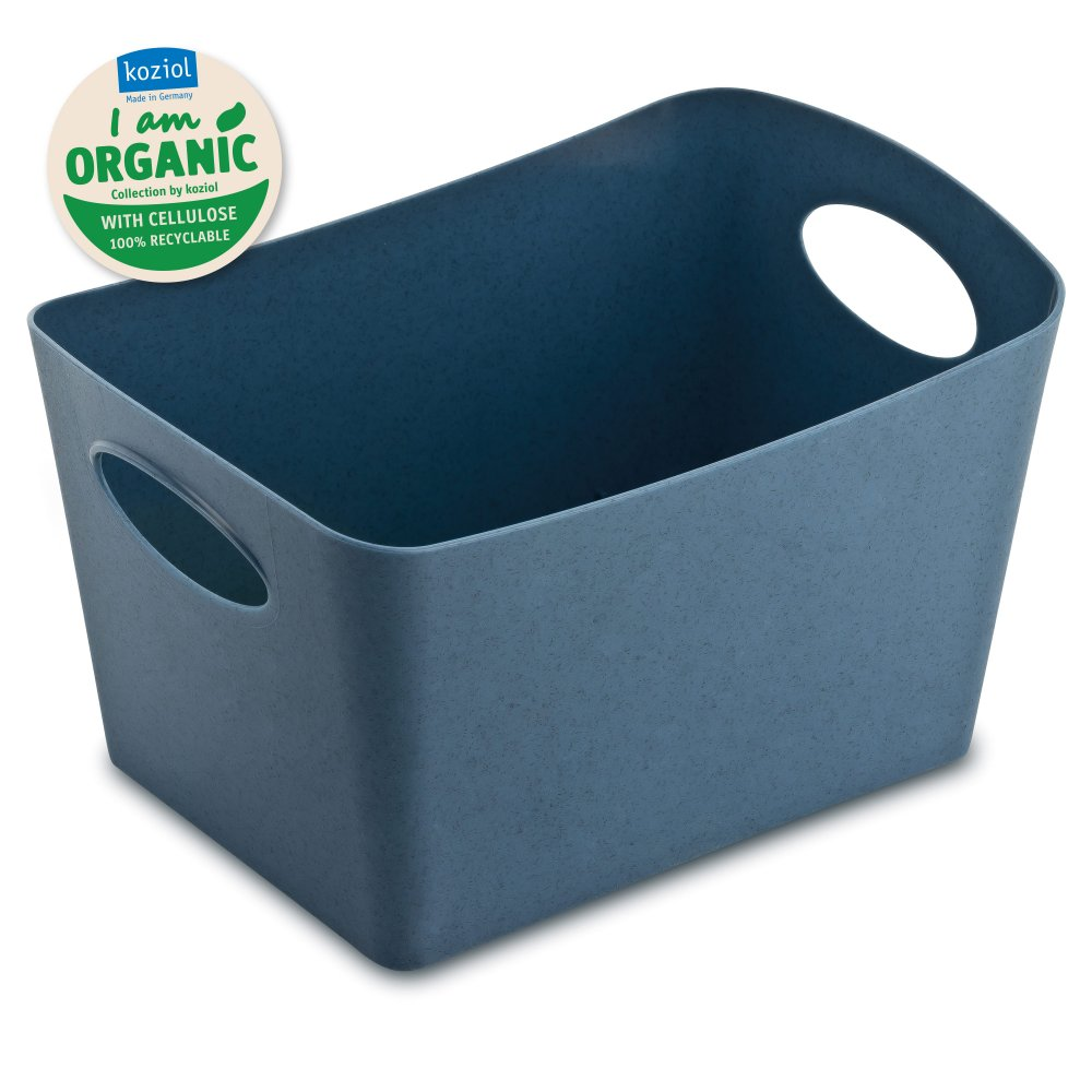 BOXXX S ORGANIC Aufbewahrungsbox 1l organic deep blue
