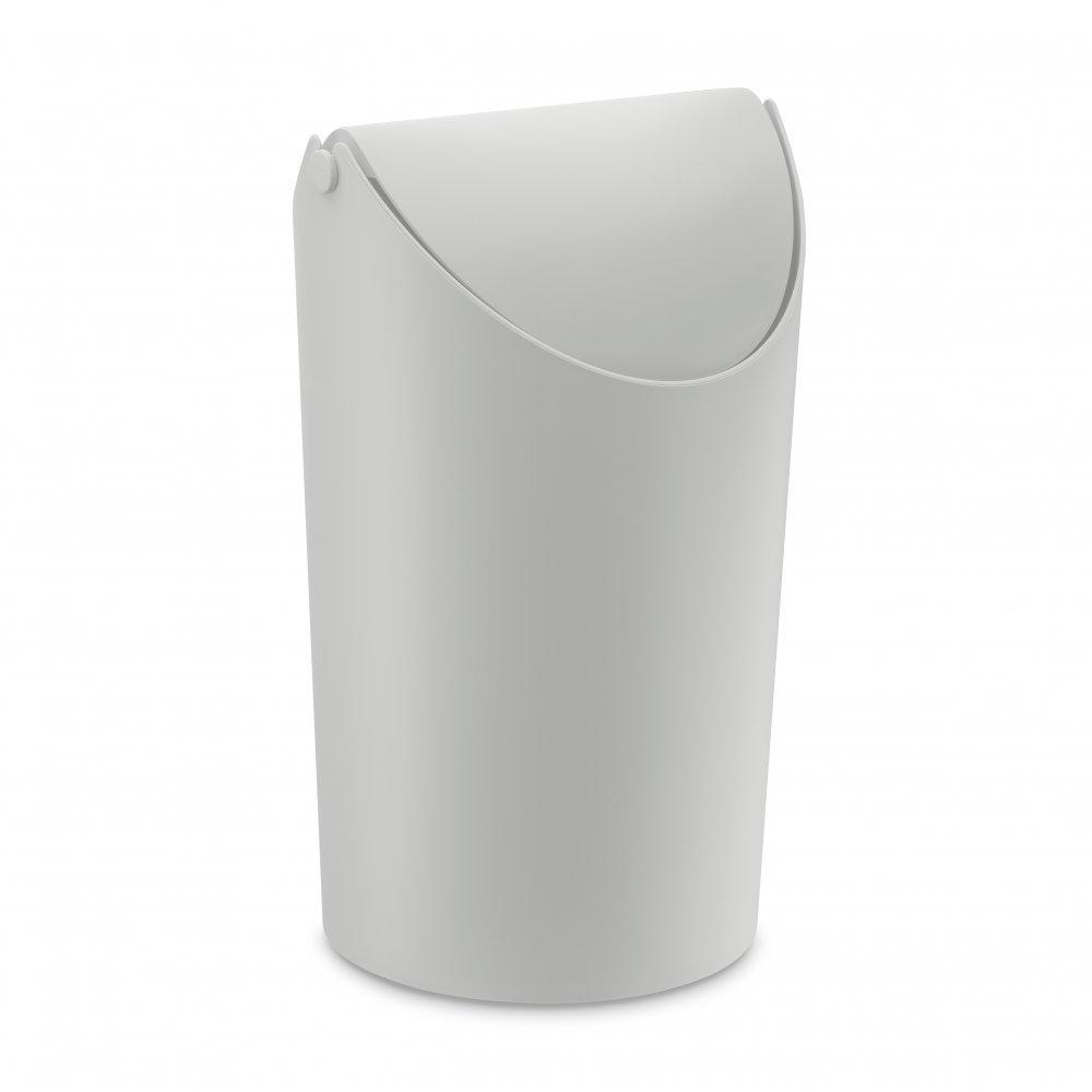 JIM Wastebasket 3,25l soft grey