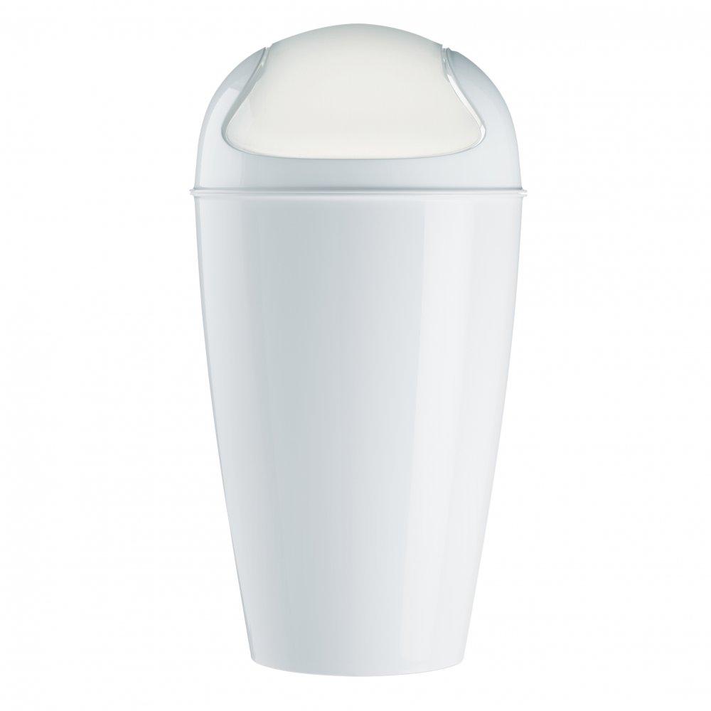 DEL XL Schwingdeckeleimer 30l cotton white