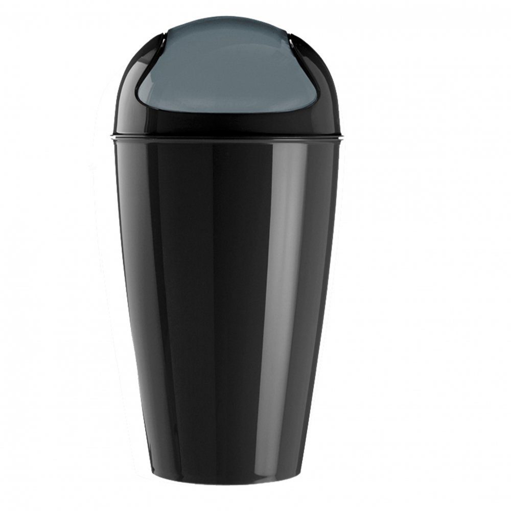 DEL XL Schwingdeckeleimer 30l cosmos black