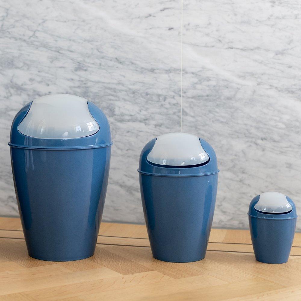 DEL S ORGANIC Swing-Top Wastebasket 5l