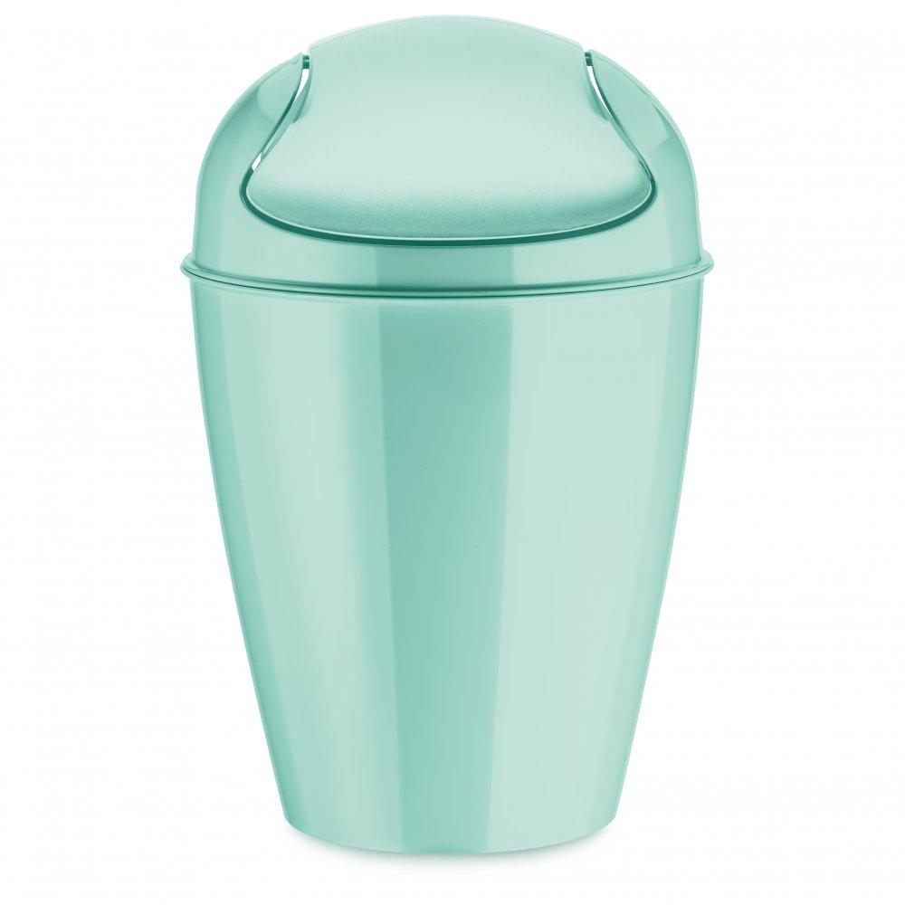 DEL S Schwingdeckeleimer 5l spa turquoise