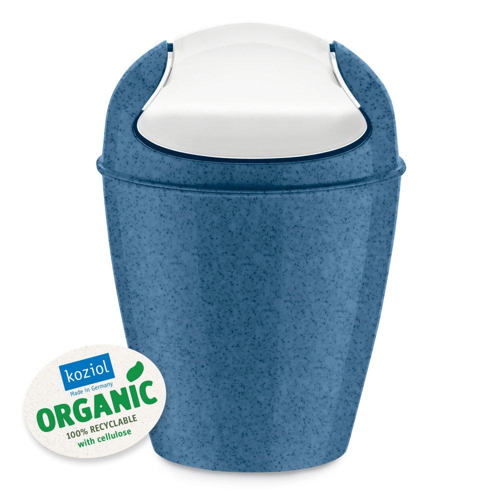 DEL XS ORGANIC Schwingdeckeleimer 2l organic deep blue