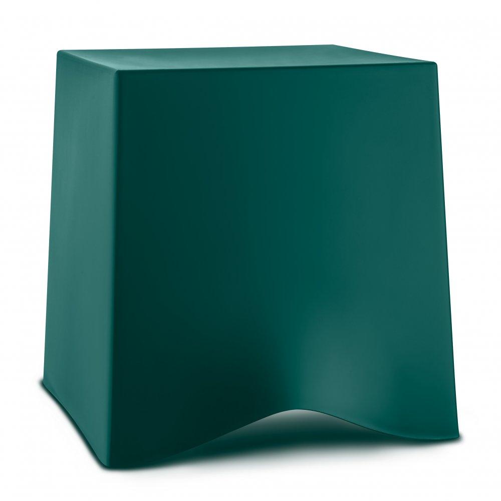 BRIQ Hocker emerald green
