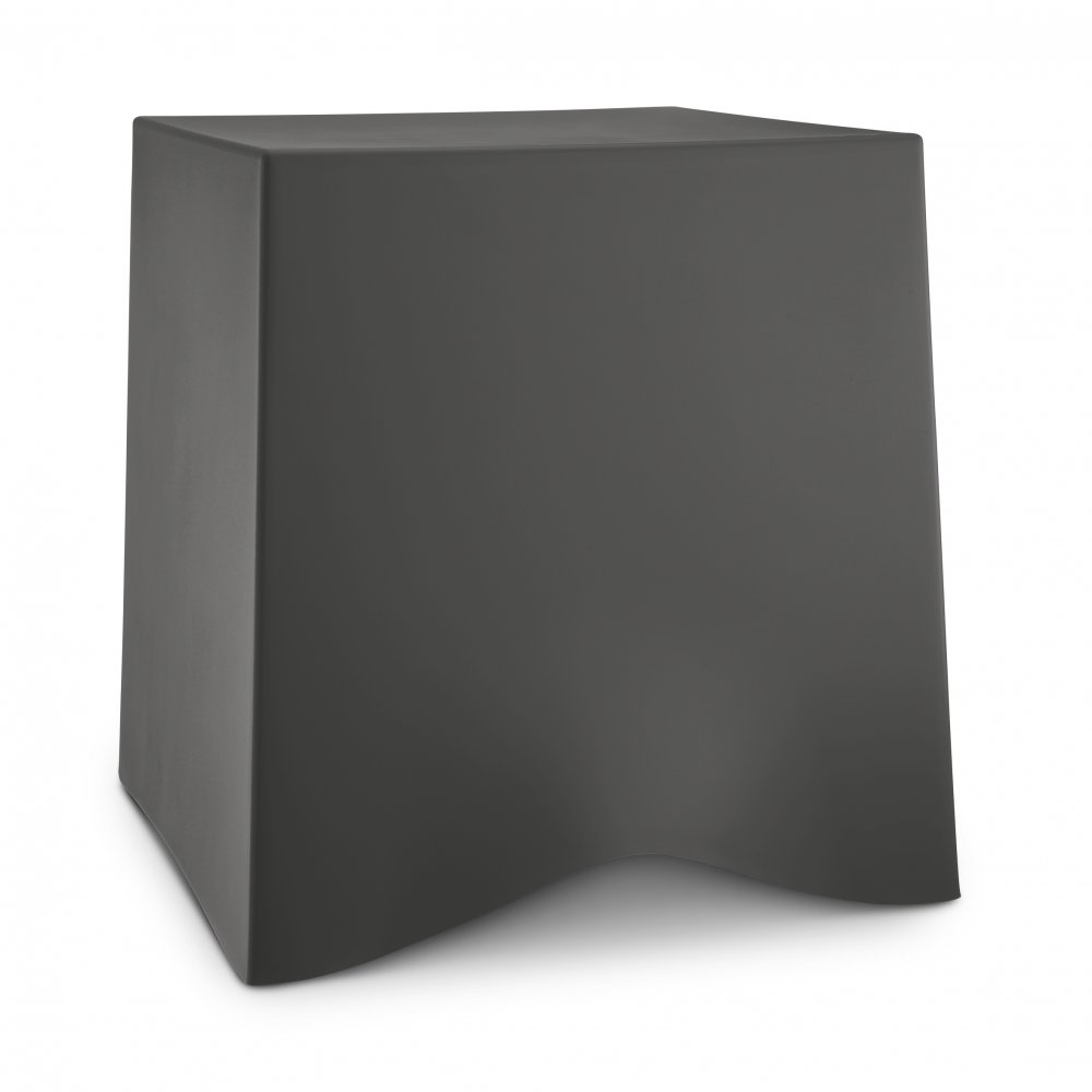 BRIQ Hocker deep grey
