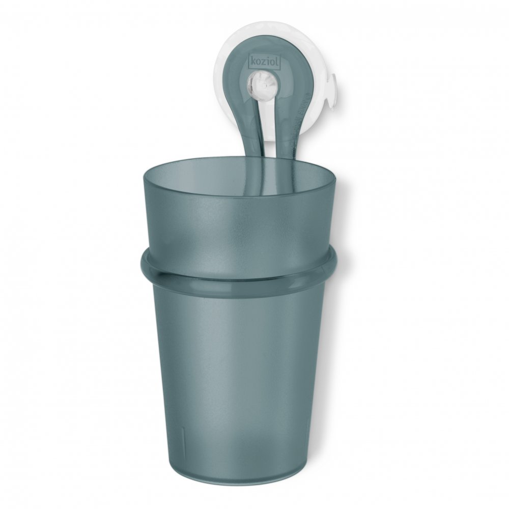 LOOP Toothbrush Tumbler Holder 300ml transparent grey