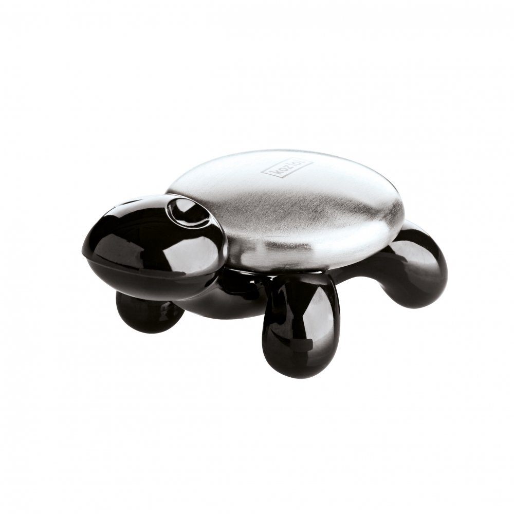 AMANDA Stainless Steel Soap w. holder cosmos black