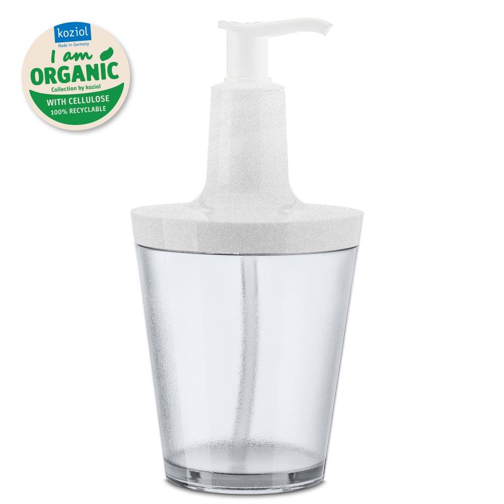 FLOW ORGANIC Soap Dispenser 250ml organic grey