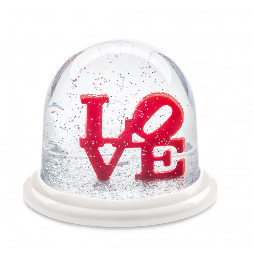 LOVE Dream Globe Medium crystal clear