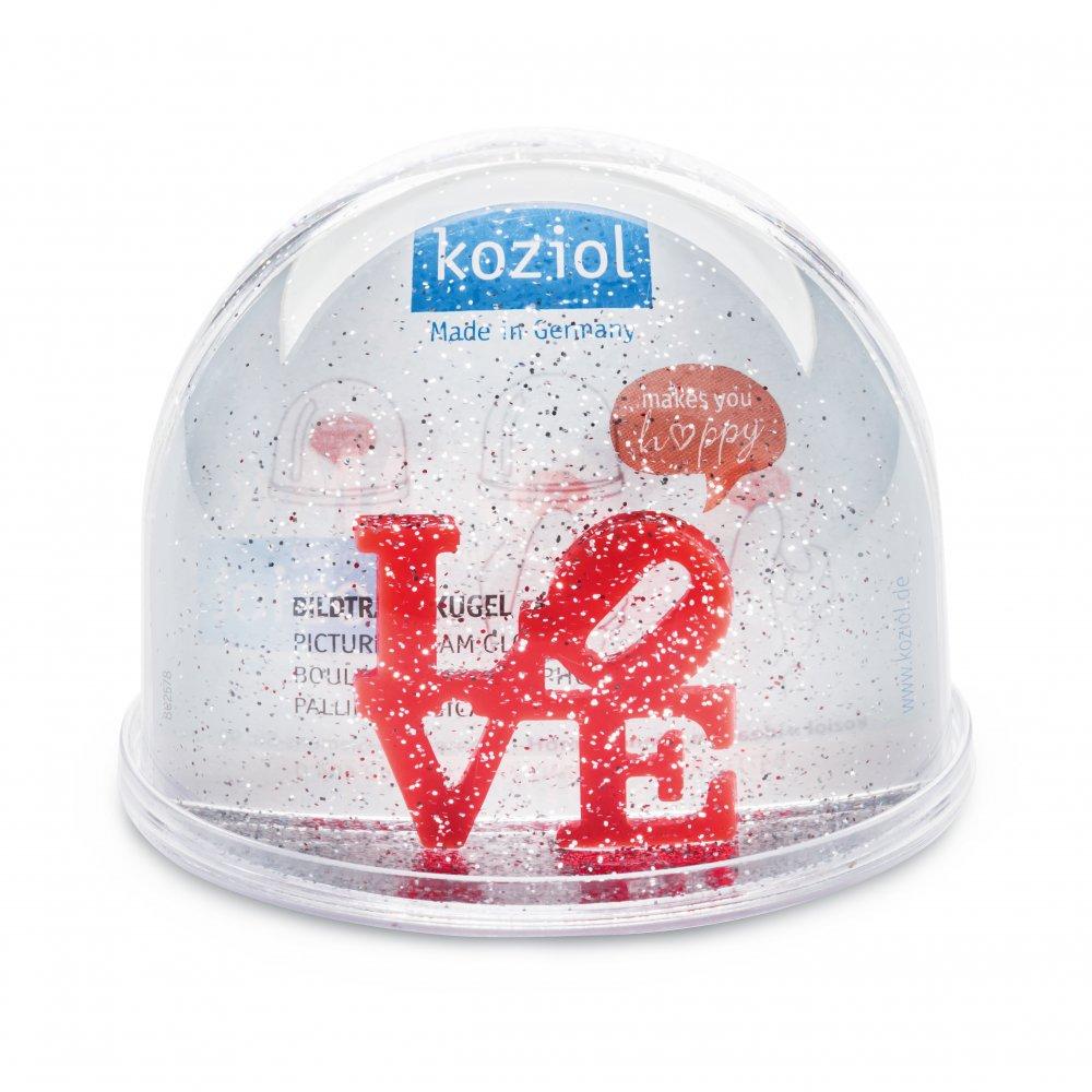 LOVE Dream Globe Maxi crystal clear