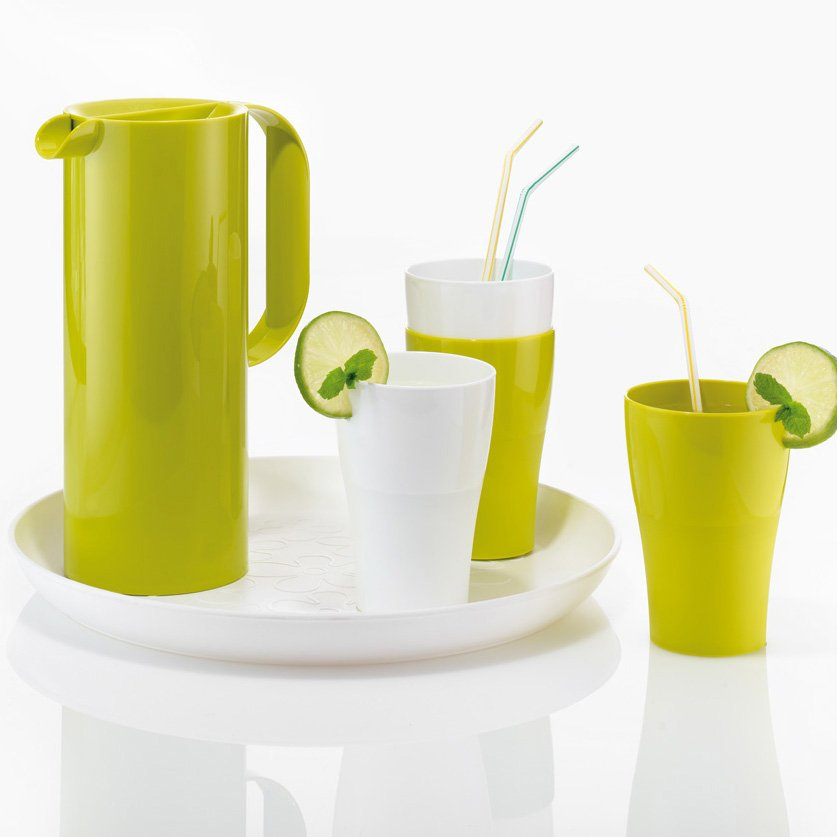 RIO & ROY Set Juice Pitcher 1,35l with 4 tumblers