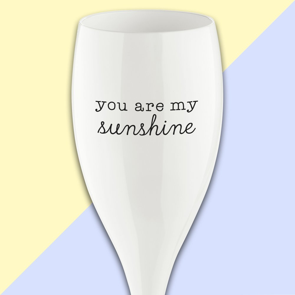 CHEERS NO. 1 SUNSHINE Superglas 100ml with print