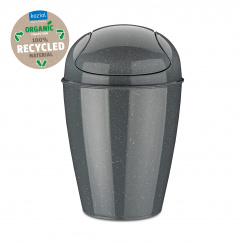 DEL S Swing-Top Wastebasket 5l RECYCLED NATURE GREY