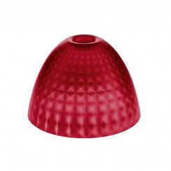 STELLA SILK S lampshade transparent red