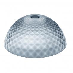 STELLA SILK XL lampshade transparent grey