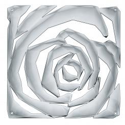 ROMANCE Raumteiler Dekoelement 4er-Set transparent grey