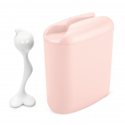 HOT STUFF L Vorratsdose 500g queen pink-cotton white