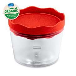 PRINCE S ORGANIC Storage Container 300ml organic red
