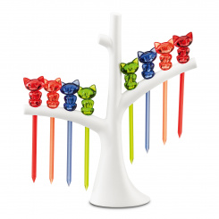 MIAOU Hors d'oeuvres forks with tree