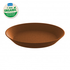 CONNECT PLATE 240mm Tiefer Teller 240mm organic rusty steel