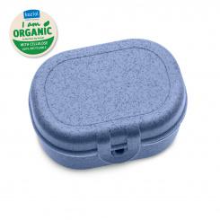 PASCAL MINI ORGANIC Lunchbox organic blue