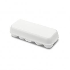 EGGS TO GO Eierbox cotton white