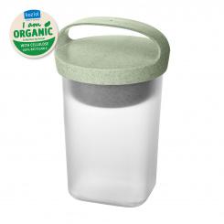 BUDDY 0,7 Snackpot mit Einsatz und Deckel 700ml organic green-organic white/transparent clear
