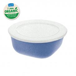 CONNECT BOX 0,7 Box mit Deckel 700ml organic blue-organic white